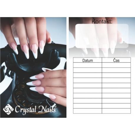 Objednávací oboustranné kartičky č.2