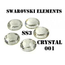 Crystal Swarovski 001 vel. SS 3 100ks