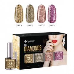 Full Diamonds sada CrystaLac 4x_4ml