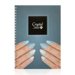 Blok poznámkový Crystal Nails